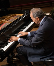 Dr. Calvin Taylor at the Piano